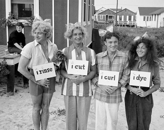 History - Rinse, cut, curl, dye